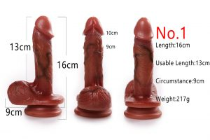 Silicone sex toy